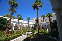 Włoski podwórze Livadia pałac obraz royalty free