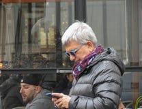 Włoski polityk Nichi Vendola w Rzym obrazy royalty free