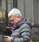 Włoski polityk Nichi Vendola w Rzym obrazy stock