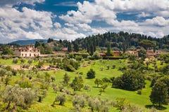 włoski region Tuscany zdjęcia royalty free