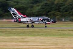 Włoski siły powietrzne 311 Gruppo pokazu tornado Zdjęcie Stock