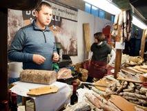 włoski sklep spożywczy sklep Fotografia Stock