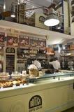 Włoski sklep z kawą Zdjęcie Stock
