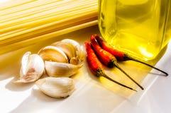 Włoski spaghetti przepis Obraz Stock