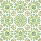 Włoski tradycyjny ornament, Śródziemnomorski bezszwowy wzór, dachówkowy projekt, wektorowa ilustracja ilustracja wektor