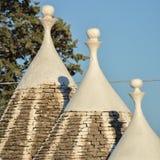Włoski trulli w południe Italy zdjęcia royalty free