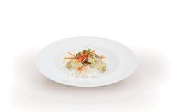 Włoski wołowina risotto Obraz Royalty Free