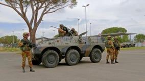 Włoski wojsko Ćwiczenia wojskowe zbiory
