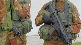 Włoski wojsko Ćwiczenia wojskowe zbiory wideo
