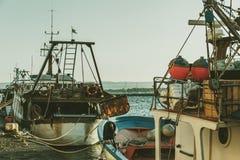 Włoskie łodzie zdjęcia royalty free