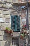 Włoskie żaluzje Obraz Royalty Free