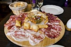włoskie antipasti zdjęcie stock
