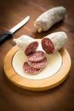 włoskie salami obrazy royalty free