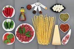 włoskie składników żywności Zdjęcie Stock