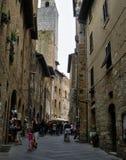 Włoskie ulicy obrazy royalty free