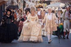 Włoskie wiktoriański suknie Obrazy Royalty Free