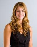 włosy dłudzy uśmiechnięci kobiety potomstwa Obraz Stock