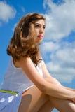 włosy dziewczyna włosy Fotografia Stock