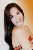 włosy kobieta długa ładna Obraz Royalty Free