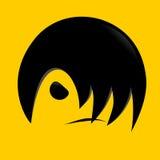 włosy nowożytny Obraz Royalty Free