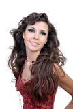 włosy piękna kobieta Obraz Royalty Free