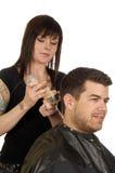 włosy pomaduje salon piękności Fotografia Stock