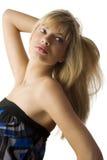 włosy target1437_0_ utrzymywać obrazy stock