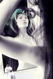 włosy tytułowanie Zdjęcia Royalty Free