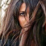 włosy wspaniały Zdjęcie Royalty Free