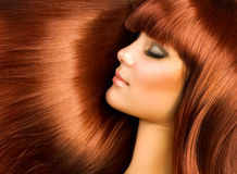 włosy zdrowy fotografia royalty free