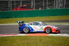 Włoszczyzna Porsche Carrera 911 filiżanka przy Monza Zdjęcie Royalty Free