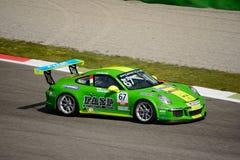 Włoszczyzna Porsche Carrera 911 filiżanka przy Monza Zdjęcie Stock