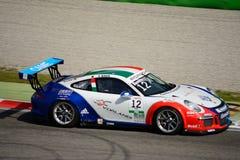 Włoszczyzna Porsche Carrera 911 filiżanka przy Monza Obraz Stock