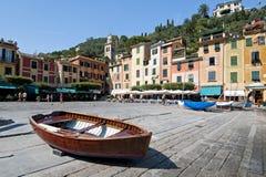 Włoszczyzna Riviera, Portofino Włochy Obrazy Royalty Free