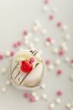 Włoszczyzna tort z cukrowymi piłkami Obrazy Stock