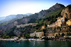 Włoszczyzny Riviera sceneria obrazy stock