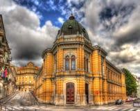 Włoszczyzny szkoła w Rijeka, Chorwacja obrazy stock