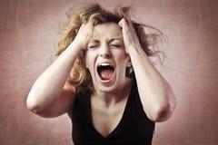 wściekłość Zdjęcia Stock