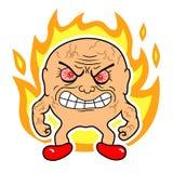 wściekłość royalty ilustracja