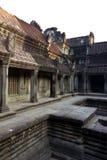 Wśród Ankor Wat obraz royalty free