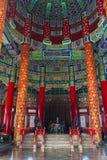 Wśrodku świątyni niebo Zdjęcie Stock