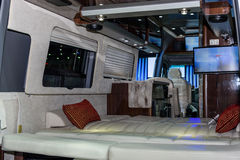 Wśrodku Airstream klasyka samochodu Obraz Royalty Free