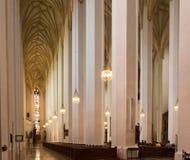 Wśrodku Duomo di Milano Zdjęcie Royalty Free