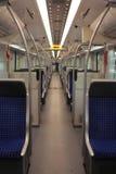 Wśrodku furgonu pociągu Obrazy Royalty Free