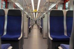 Wśrodku furgonu pociągu Obraz Royalty Free