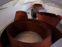 Wśrodku Guggenheim obrazy stock