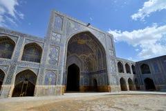 Wśrodku Jameh meczetu Isfahan, Iran zdjęcia stock