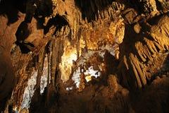 Wśrodku jamy Kolosalny jamy góry park obrazy royalty free