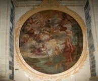 Wśrodku katedry Catania, Sicily, południowy Włochy. Zdjęcie Royalty Free