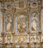 Wśrodku katedry Catania, Sicily, południowy Włochy. Zdjęcie Stock